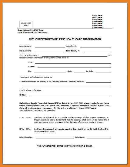 medical form templates | word format resume