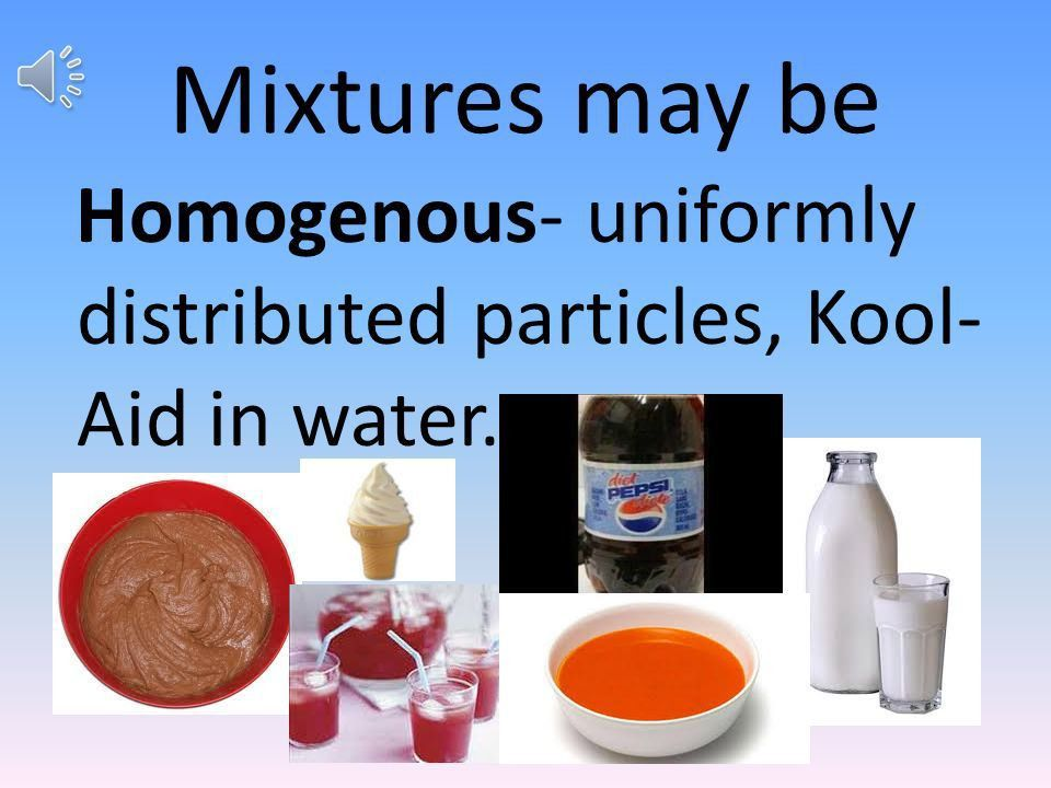 Mixtures Solutions Colloid Suspension MATTER Heterogeneous mixture ...