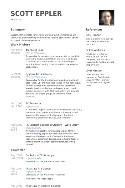 Technical Lead Resume samples - VisualCV resume samples database