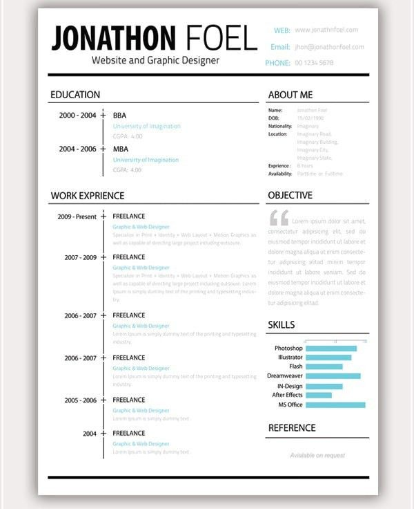 Download Awesome Resume Templates | haadyaooverbayresort.com