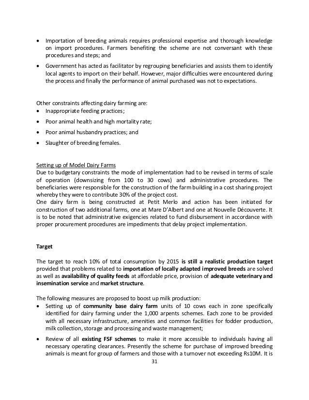 Food security strategic plan 2013 2015