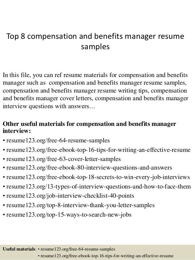 top-8-compensation-and-benefits-manager-resume-samples -1-638.jpg?cb=1428677099