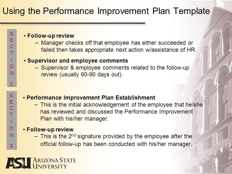 Arizona State University Performance Management Program Guidelines ...