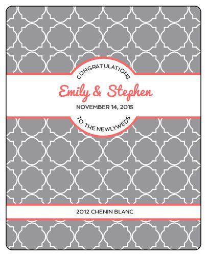 Wedding Label Templates - Download Wedding Label Designs