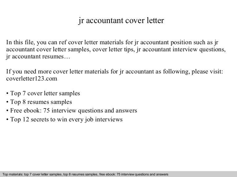 Brilliant Ideas of Junior Accountant Resume Cover Letter On Sample ...