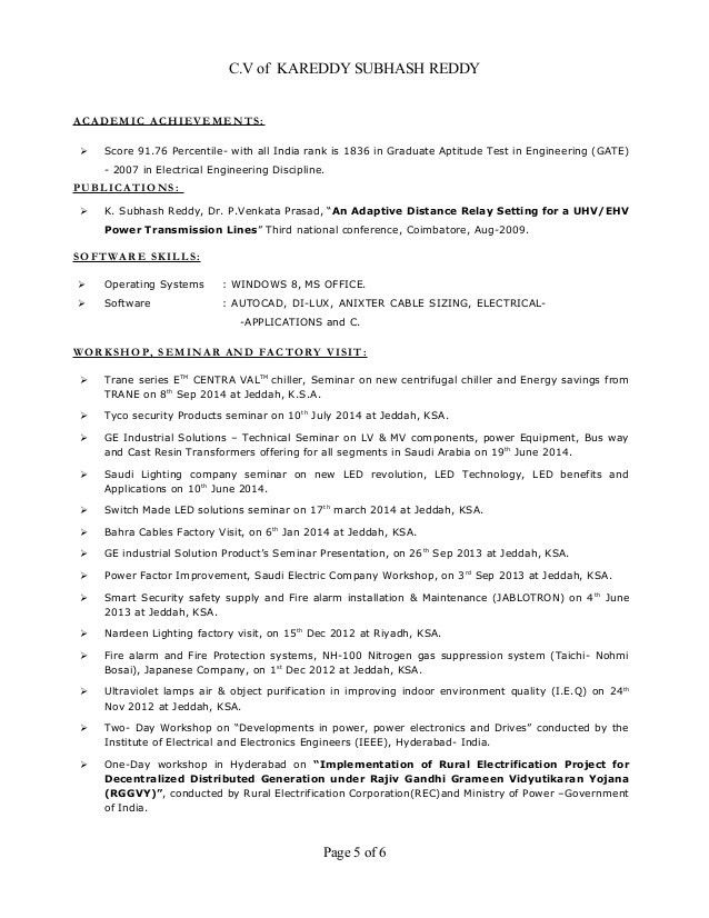Download Electrical Engineer Resume | haadyaooverbayresort.com