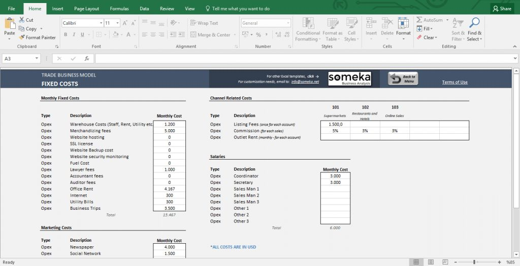 Complete List of Things You Can Do With Excel - Someka.net