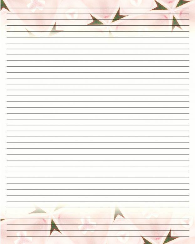 Diary Paper Template - Resume Templates