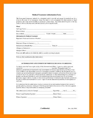 7+ free printable child medical consent form | hostess resume
