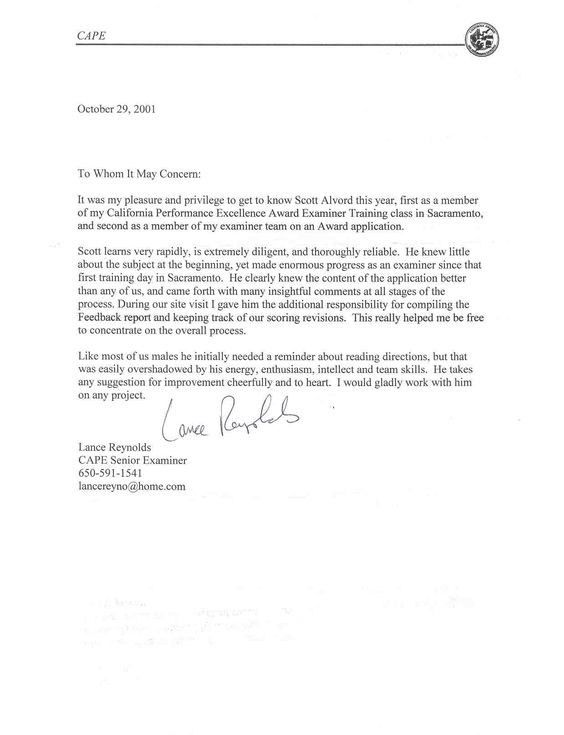 Immigration Letter Of Recommendation Samples | Template Design