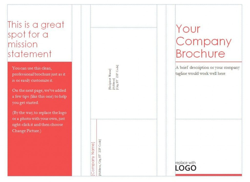 Tri Fold Brochure Template. Google Docs Brochure Template | Best ...