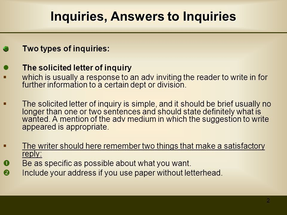 Specific Types of Business Letters - ppt video online download