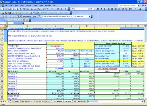 accounting templates in excel