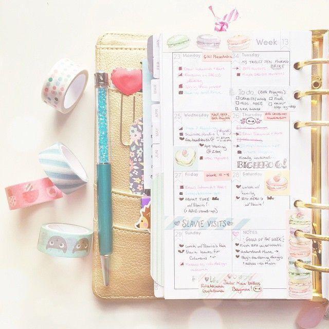165 best Agenda / Planner / Bullet Journal images on Pinterest ...