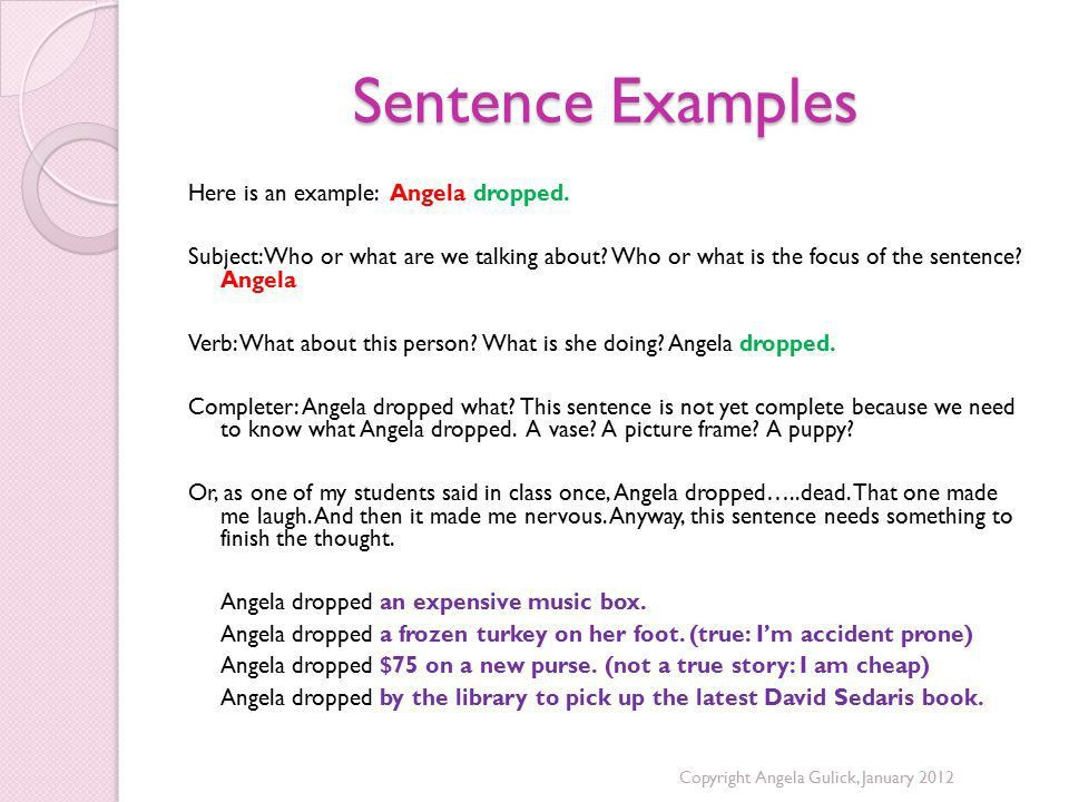 Sentence Structure Review: Sentence Fragments - ppt video online ...