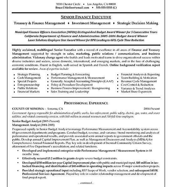 luxury inspiration finance manager resume 3 manager resume example