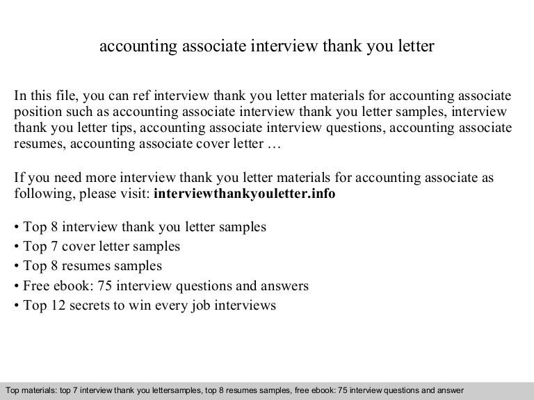 Example accounting associate resume free sample