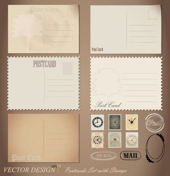 Free Postcard Template Download 92 | Samples.csat.co