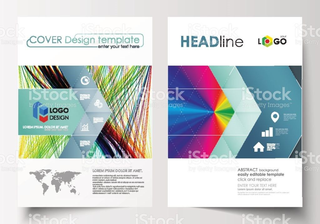 Business Templates For Brochure Magazine Flyer Report Cover ...
