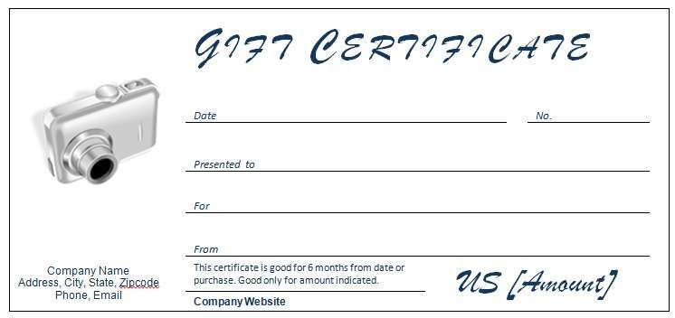 40+ Gift Certificates Templates for Any Occasion   Microsoft and ...