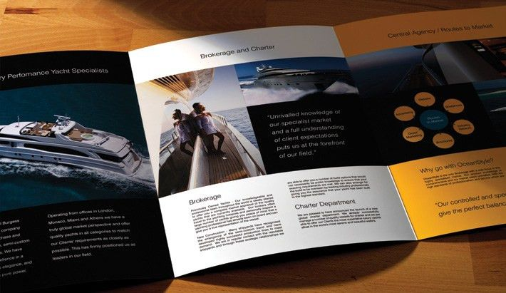 Oceanstyle Corporate 6 page brochure | TR brochure inspiration ...