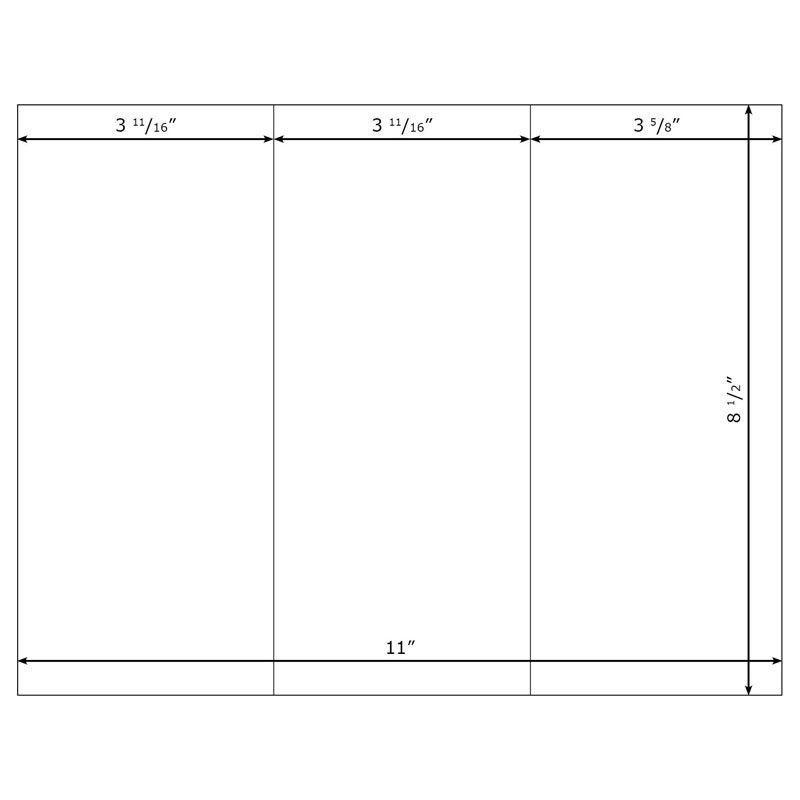 Google Docs Tri Fold Brochure Template | Template Design