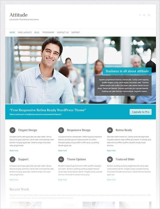 Free WordPress Templates Business | Template Design