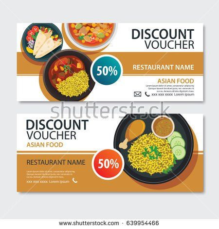 Food Coupon Template Stock Images, Royalty-Free Images & Vectors ...
