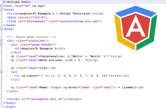 AngularJS Tutorial – Lesson 1