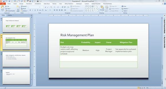 Top 5 Resources To Get Free Risk Management Plan Templates - Word ...