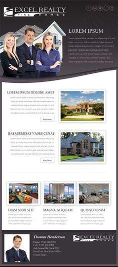 Custom Real Estate Email Flyer. For more information visit http ...