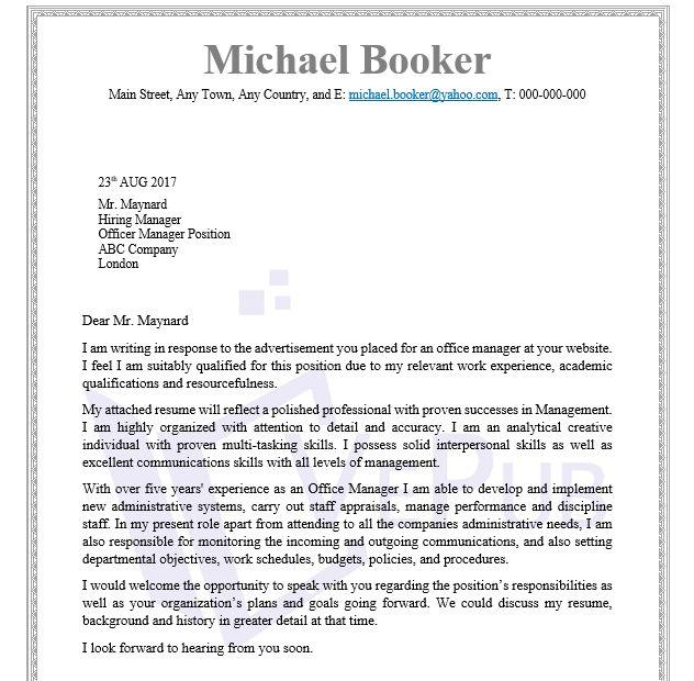 Audiologist-Technician-Cover-Letter | Business Service | Vepub