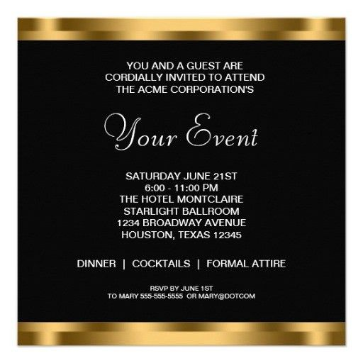 5 Gorgeous Professional Party Invitation Template | neabux.com