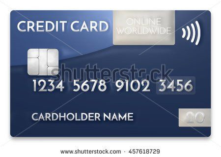 Dads Credit Card Stock Illustration 150602375 - Shutterstock
