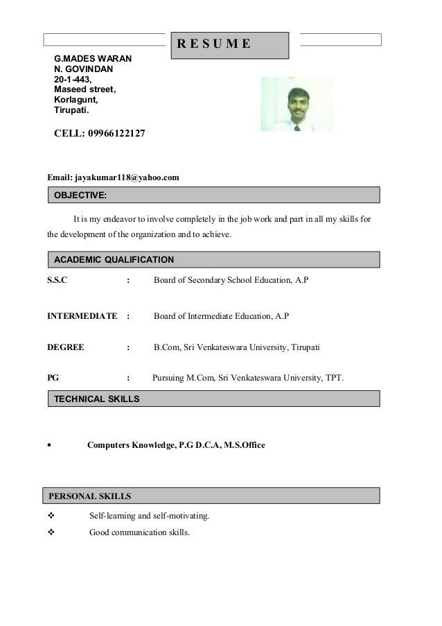 Resume For Front Office Associate.Docx1