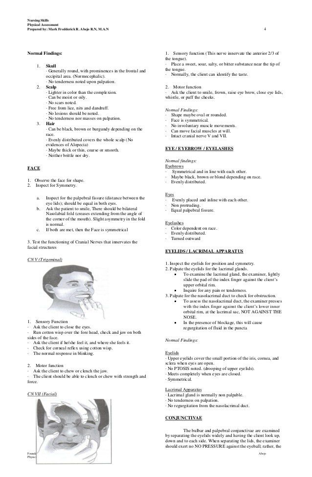 Lect 1 physical assessment hand outs