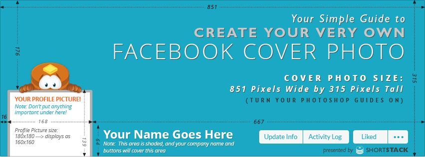 Cover Photo Template for Facebook - ShortStack