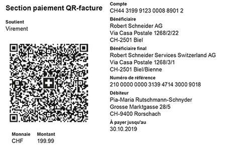Online billing via payment slips | BCV - Banque Cantonale Vaudoise