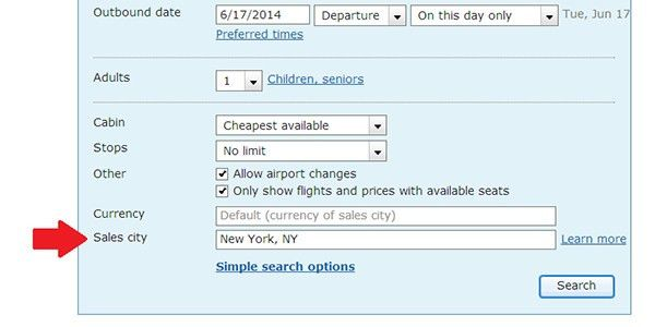 "Use a ""Fake"" Location to Get Cheaper Plane Tickets 