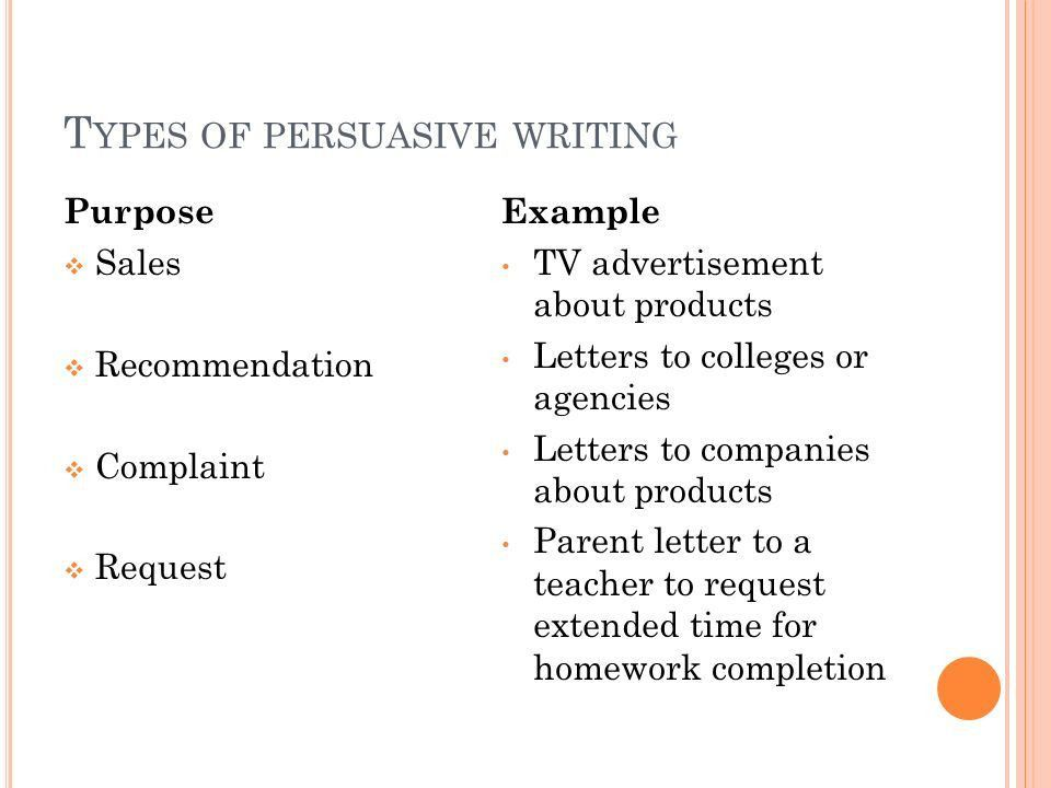5th Grade Writing Persuasive Letters - ppt download