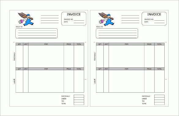 Contractor Receipt Template – 9+ Free Sample, Example, Format ...