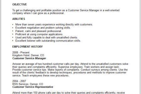 Professional Profile Resume Examples, Manager Resume Example ...