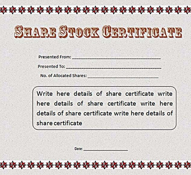 Certificate Template Ms Word [Template.billybullock.us ]