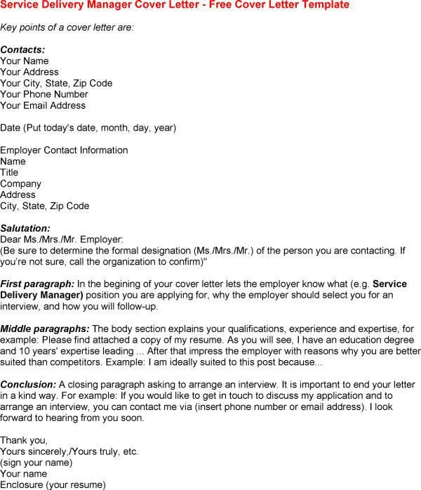 Cover Letter For Federal Job - My Document Blog