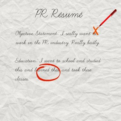 Handwritten cover letter for resume
