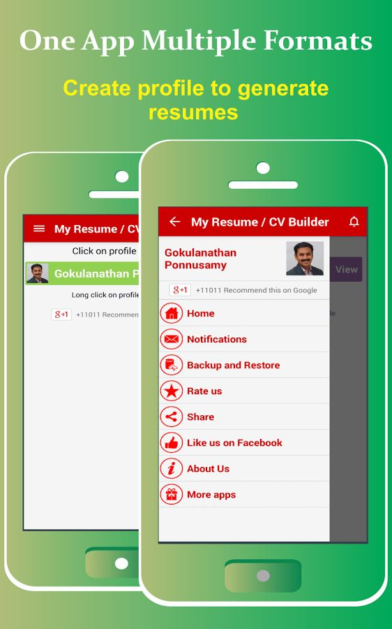 My Resume Builder,CV Free Jobs 4.9 APK Download - Android Business ...