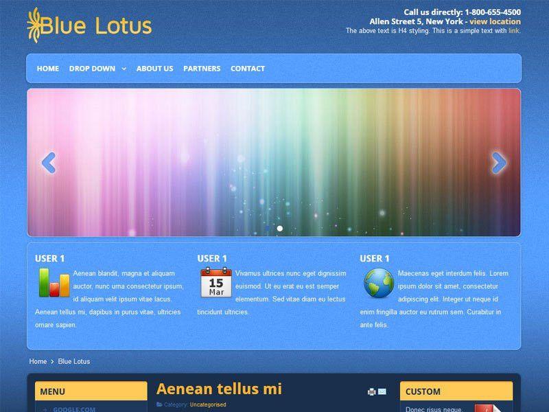 Download Free Joomla 2.5 Templates