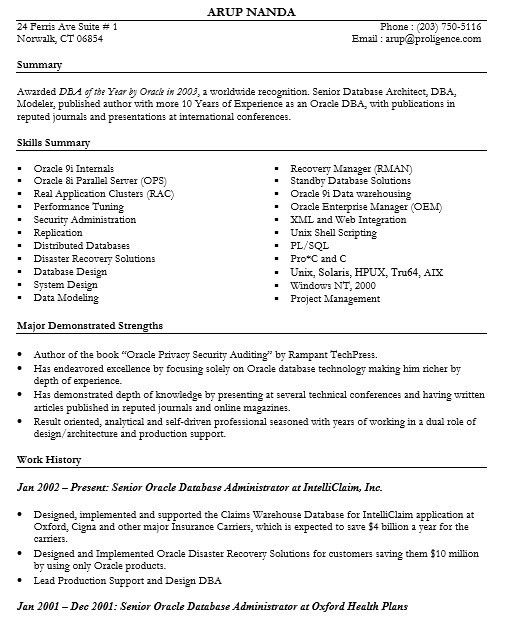 16 Free Sample Enterprise Data Architect Resumes – Sample Resumes 2016