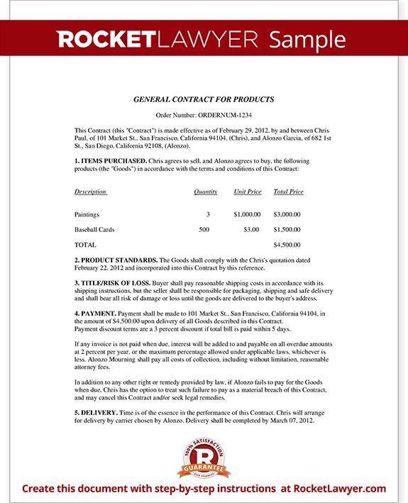 Business Contract Template - Business Sales Agreement Sample