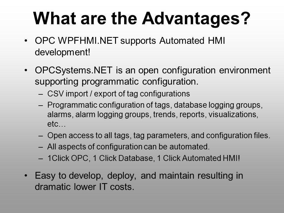 OPC WPFHMI.NET. - ppt video online download